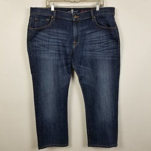 7 For All Mankind The Straight Jeans 40x26